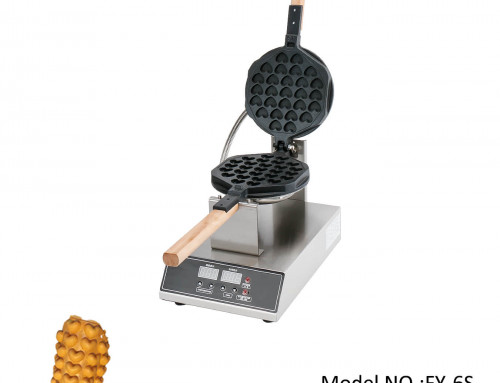 Hongkong Egg Waffle Maker With Newest Digital Design In Heart Shape