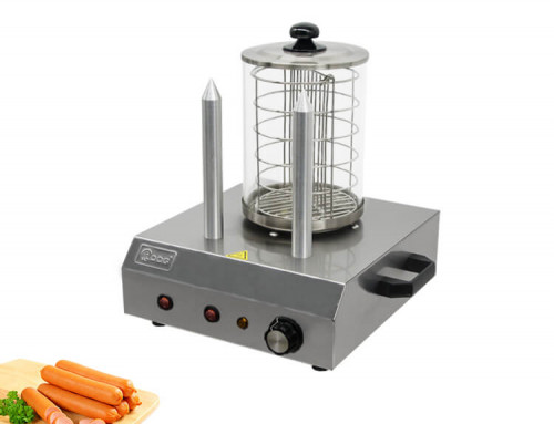 Sausage Warmer With 2 Aluminum Spikes For Snack Equipment