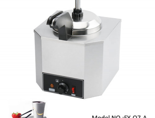 Cheese Warmer/Hot Fudge Warmer With Stainless Steel Pump