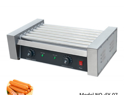 Hot Dog Roller Machine Stainless Steel For Small Business
